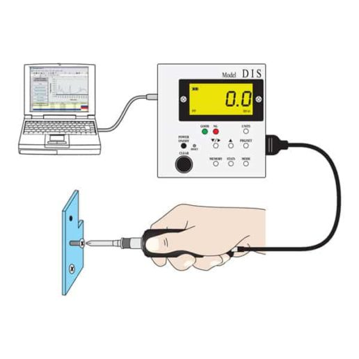 DIS-RL Digital Torque Screwdriver Data Acquisition